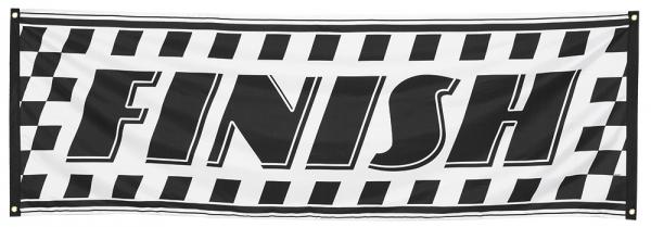 Party-Extra Riesen Stoff Banner Zielflagge