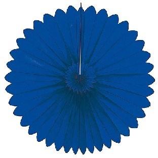 Dekofächer dunkelblau - klassische Wanddeko