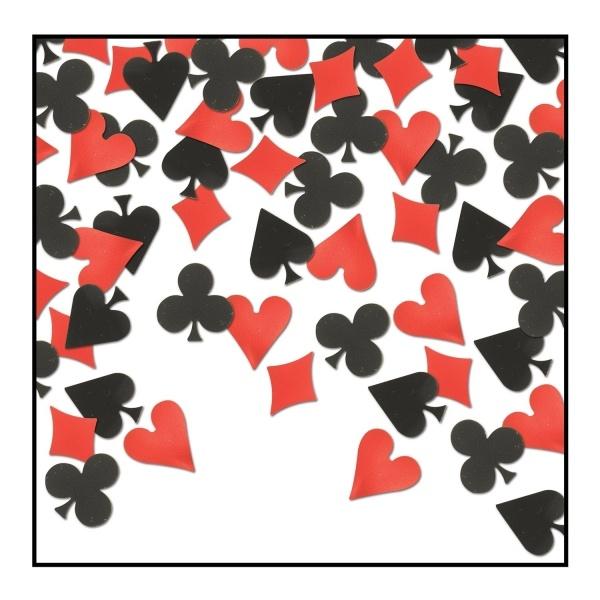 Party-Extra Tischkonfetti Casino - Poker Abend Tischdeko