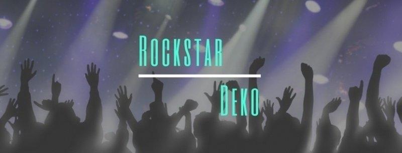 Party-Extra Rockstar Deko