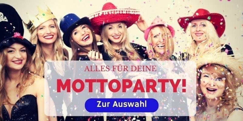 Mottoparty Deko + Zubehör günstig Online kaufen! | Party Extra