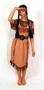 Kinderkostüm Indianer-Squaw