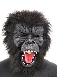 Latexmaske Gorilla