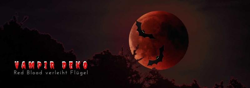 Vampir Deko - Graf Dracula Dekorationen D
