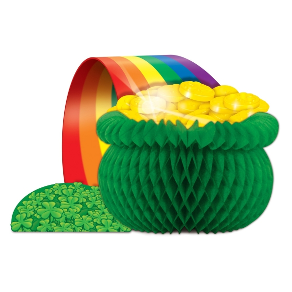 Tischdeko Pot of Gold - Irland Party Deko