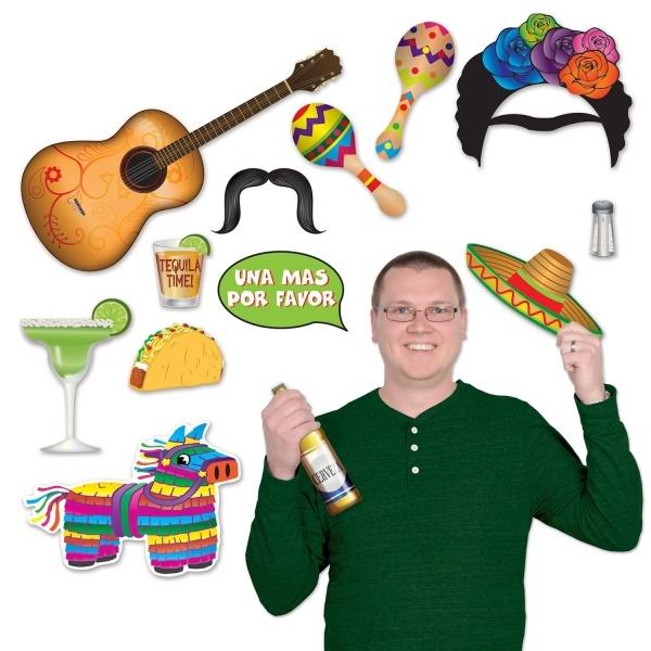 Party-Extra Fotospaß Cutouts Mexikoparty