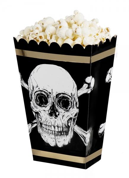 Piraten-Popcornschüssel - Piratenparty Tischdeko