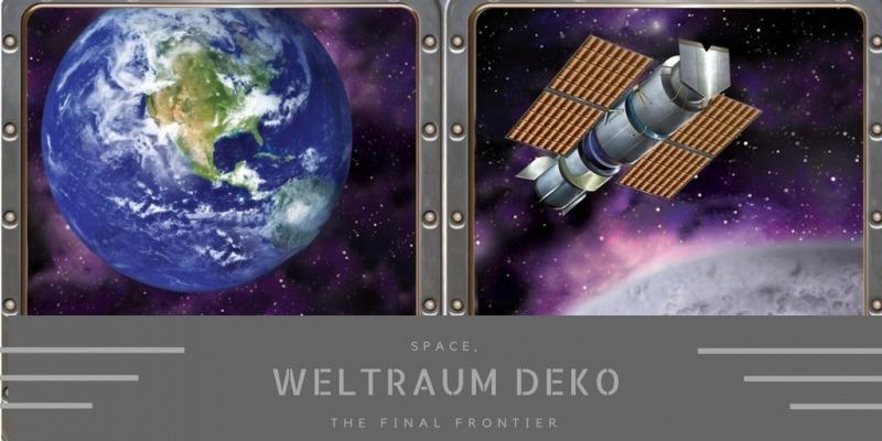 Party-Extra Weltraum Deko - das letzte Abenteuer der Menschheit
