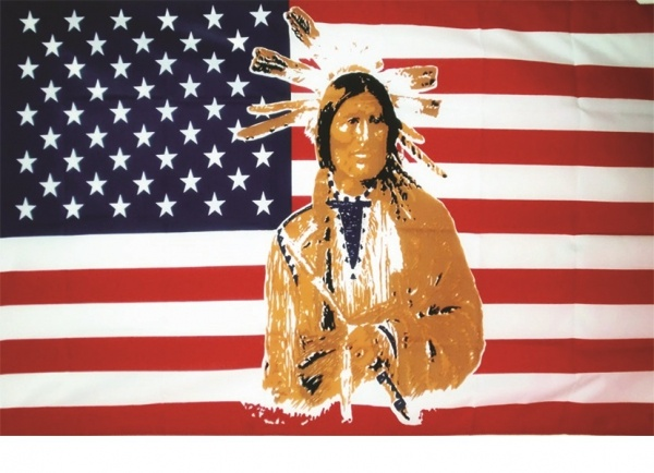 Dekofahne Sioux Nation, 90 x 150 cm