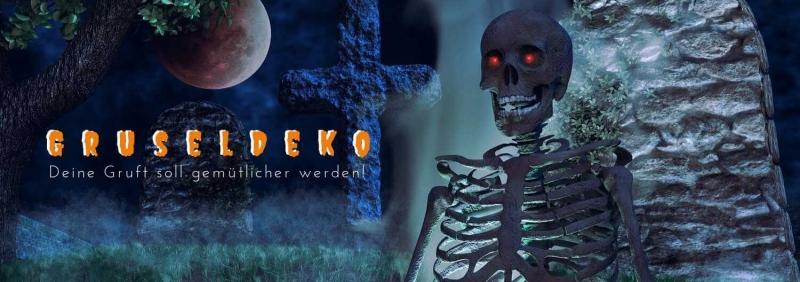 Halloween Gruseldeko - günstig gruseln mit Party-Extra DT