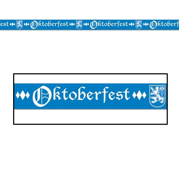 Absperrband Oktoberfest - Bierparty Deko