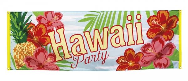 Mega-Partybanner Hawaii Strandparty - Beachparty Deko