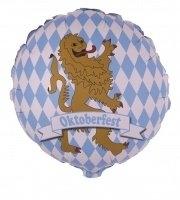 Folienballon Oktoberfest, 56cm Durchmesser
