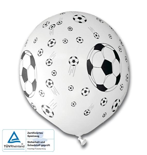 Luftballons Fußballparty - Fußball Deko