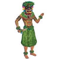 Cut-out-Figur Tiki-Krieger, 97cm groß