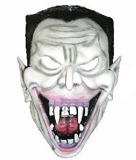 Latexmaske Grinsender Vampir