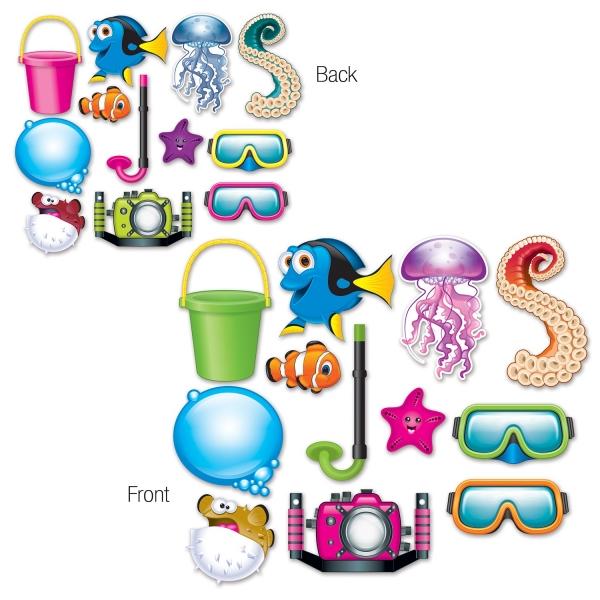 Unterwasserwelt Fotofun Requisiten-Set - Unterwasser Deko