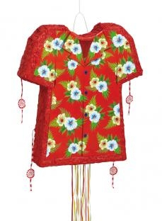 Pinata Hawaii-Hemd, 50 cm groß