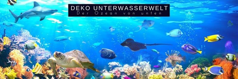 Deko Unterwasserwelt - Party unter der Meeresoberflaeche