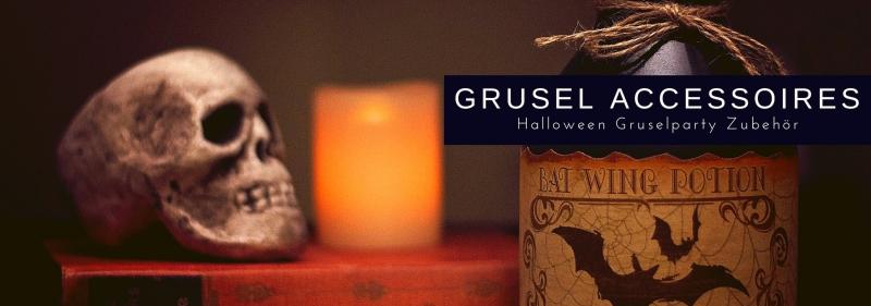 Grusel Accessoires fuer Ihre Halloween Party