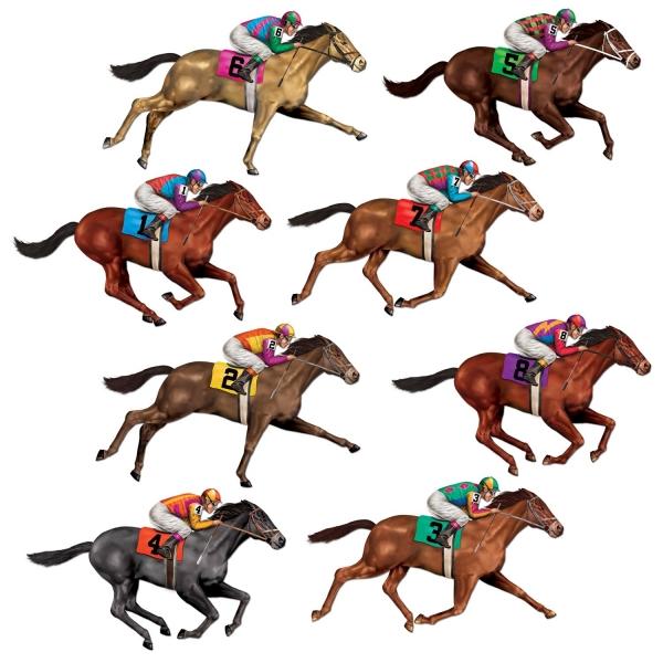 Dekofolie Rennpferde - Sport Deko