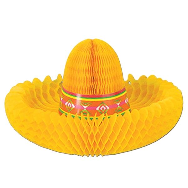 Party-Extra Tischdeko Mexikanerhut - Deko Sombrero