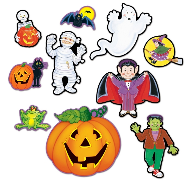 Happy Halloween Cutouts - Kinder-Gruselparty Deko