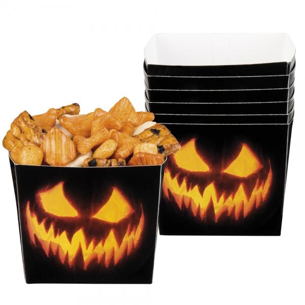 Pappschuessel Spooky Pumpkin - Halloween Tischdeko