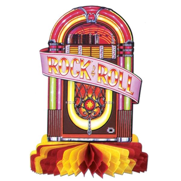 Tischdeko Juke Box - 50er Jahre Rock + Roll Deko