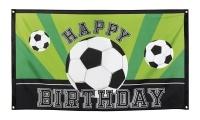 Dekofahne Fußball-Geburtstag, 90 x 150 cm