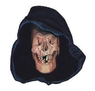 fParty-Extra Cutout Schild Grim Reaper, 38 cm