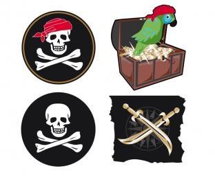 Cut-out-Set Piratenparty