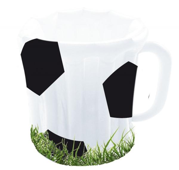 Party-Extra Auflasbarer Fußball-Bierkrug Getränkekühler - Fußballparty Deko
