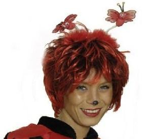 Haarreif Rote Schmetterlinge