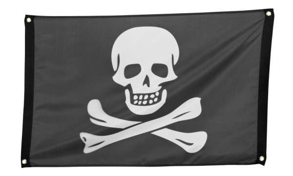 Piratenflagge - Piratenparty Deko