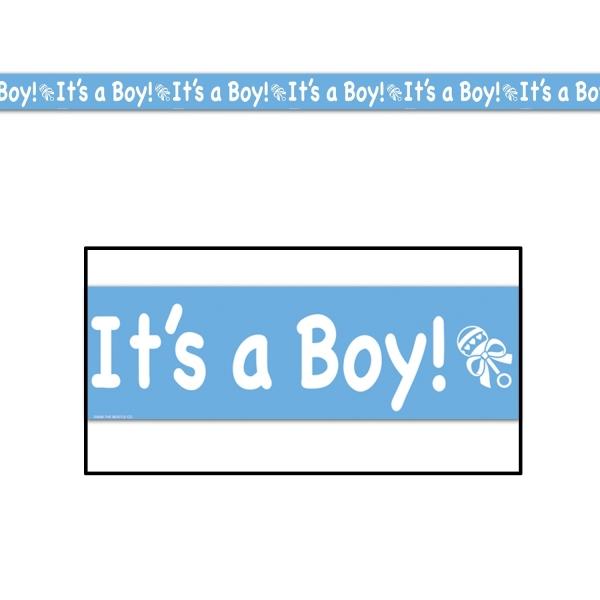Absperrband It's a Boy - Babyparty Deko