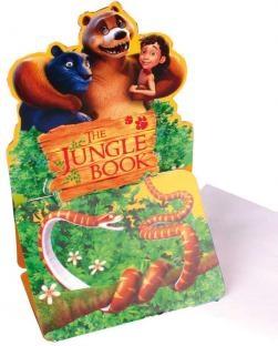 Einladungskarten The Jungle Book, 6 Stück mit Umschlägen
