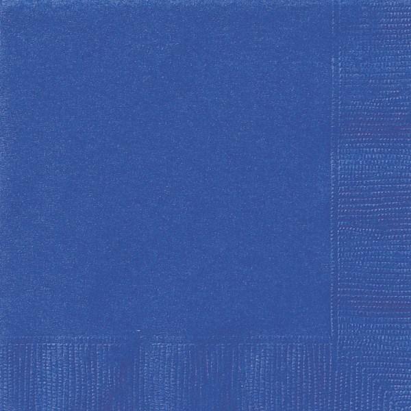 Servietten, blau, 20er Pack