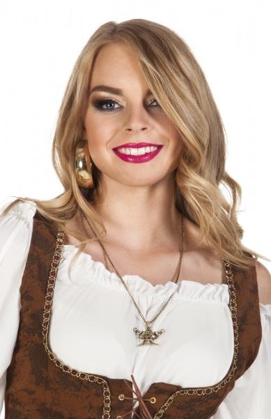 Parety-Extra Halskette Piraten, metallguß