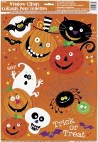 Fenster-Folie Spooky Smiles, 3 Motivgruppen, 15-30cm