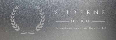 Grandiose Silber Deko fuer Ihre Party