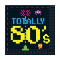 Servietten 80er Jahre 8-bit Videospiel, 16er Pack