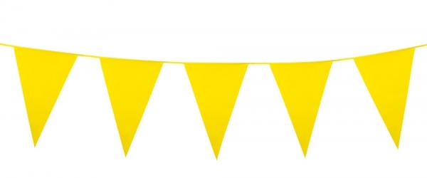 Mini-Wimpelkette Gelb