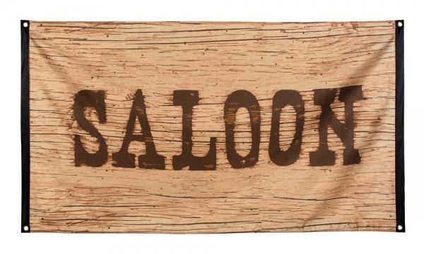 Dekofahne Wild West Saloon, 90 x 150 cm