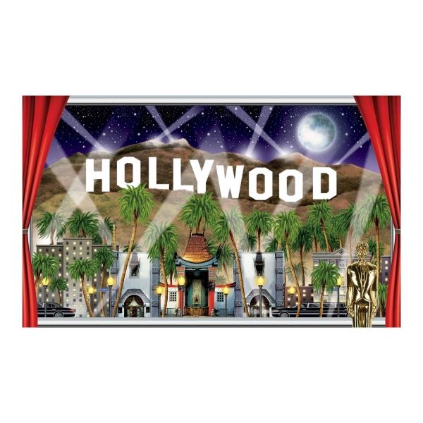 Fensterbild Dekofolie Hollywood,