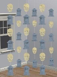Hängegirlanden Friedhofterror