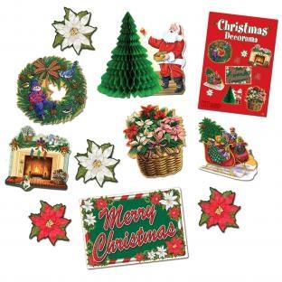 Dekoset Weihnachten, 10-teilig