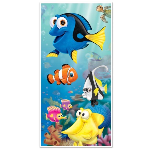 Tür-Dekofolie Korallenriff-Freunde - Unterwasserwelt Deko