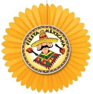 Dekofächer Fiesta Mexiko, 60cm