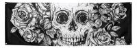 Riesen-Stoffbanner Day of the Dead, 74 x 220cm